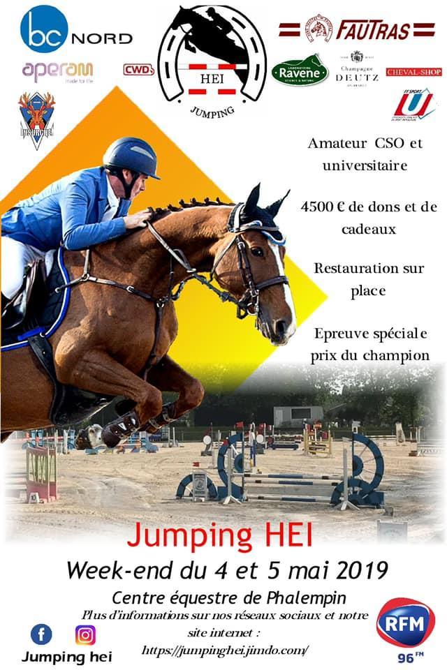 CSO AMATEUR organisé par JUMPING HEI à Phalempin le 4 & 5 mai 2019