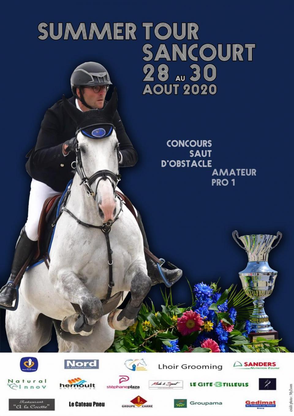 Prochain Concours au Centre Equestre de Sancourt